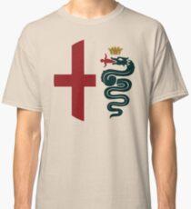 Alfa Romeo classic biscione / cross Classic T-Shirt
