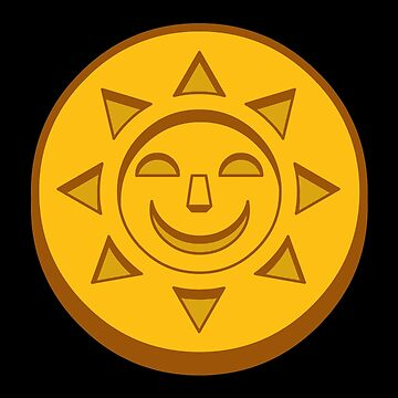 Treasure of the Golden Suns Coin by robotghost