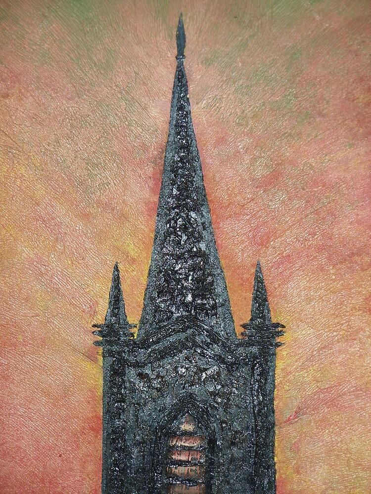 Church Steeple by Barry Burke