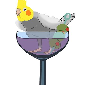 cockatiel cocktail  by FandomizedRose