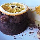 Chocolate Orange Fondant with Orange Parfait by CreativeEm