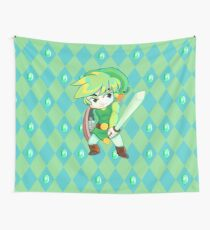 Link Minish Cap Wall Tapestry