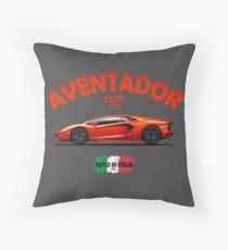 The Aventador Throw Pillow