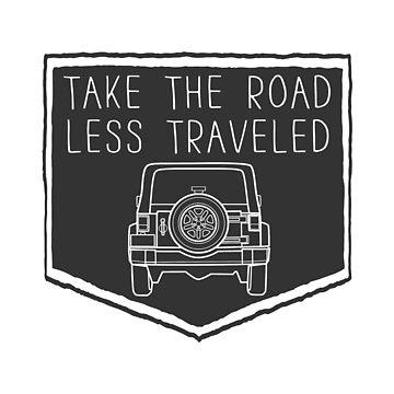 Straße weniger gereist - Jeep von its-anna