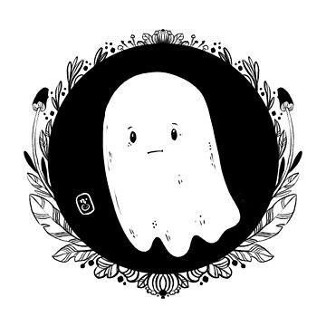 Sad Little Ghost by nykiway
