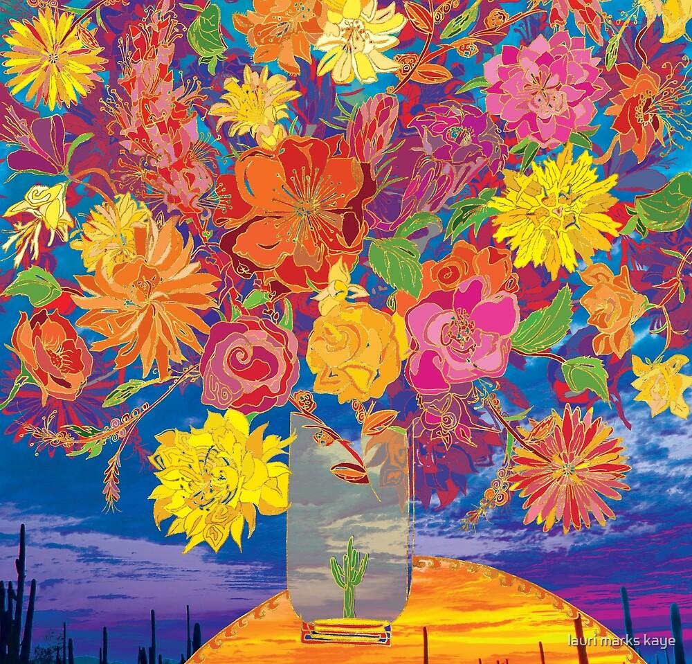 Desert Floral Arrangement / A Tucson Portrait Story by lauri marks kaye