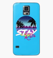 Stay Retro - Miami Vice Synthwave Nights  Case/Skin for Samsung Galaxy