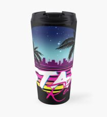 Stay Retro - Miami Vice Synthwave Nights  Travel Mug