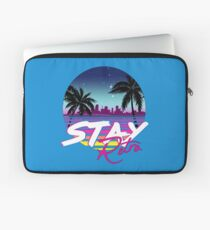Stay Retro - Miami Vice Synthwave Nights  Laptop Sleeve