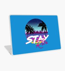 Stay Retro - Miami Vice Synthwave Nights  Laptop Skin