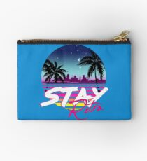 Stay Retro - Miami Vice Synthwave Nights  Studio Pouch