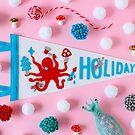 Holiday Pennant by Hiné Mizushima