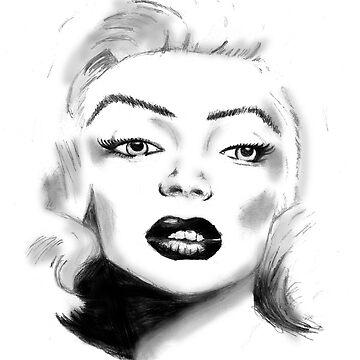 Marilyn Monroe by JamieMcc