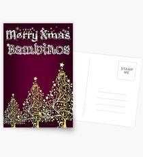 Merry xmas bambinos Postcards