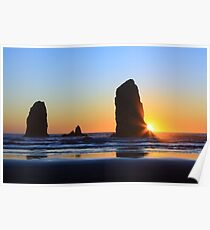 Canon Beach Needles Poster