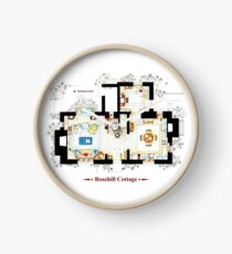 Rosehill Cottage from THE HOLIDAY - Ground floor Clock