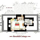 Rosehill Cottage from THE HOLIDAY - Upper floor A by Iñaki Aliste Lizarralde