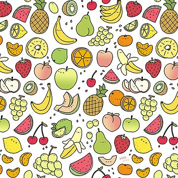 Doodle de frutas jugosas de KiraKiraDoodles