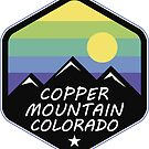 Ski Copper Mountain Colorado Skiing by MyHandmadeSigns