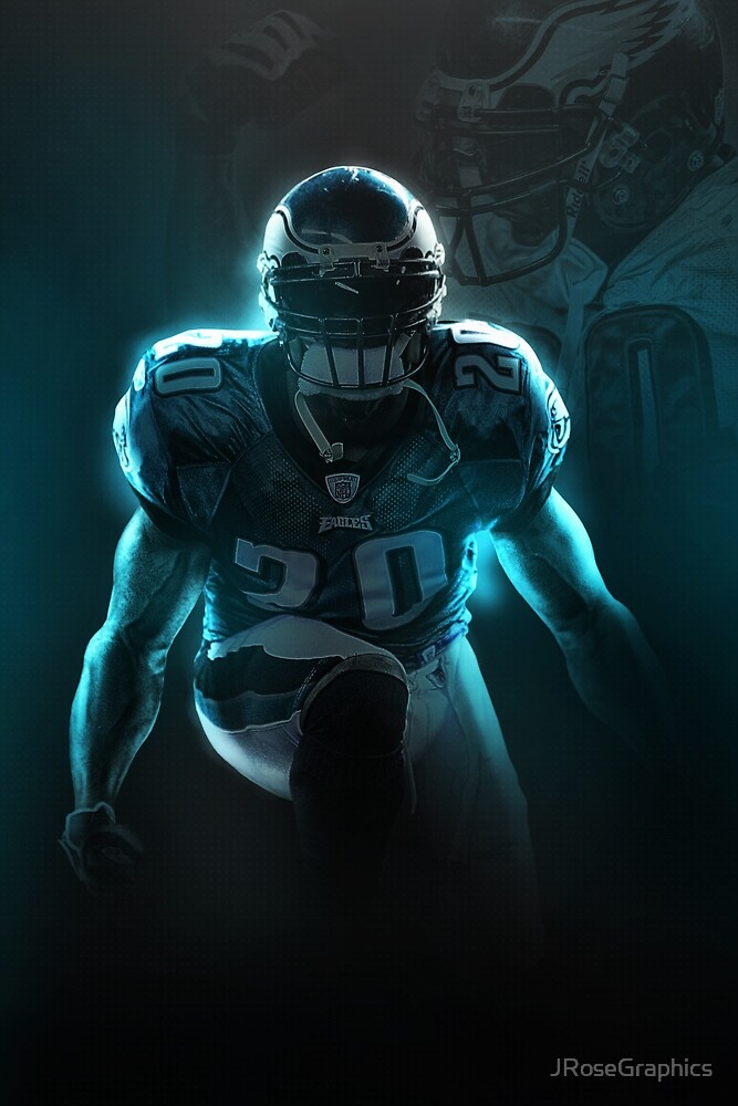 best website 73815 4e329 Brian Dawkins Philadelphia Sports Art