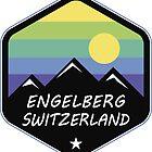 Ski Engelberg Switzerland Skiing Mount Titlis by MyHandmadeSigns