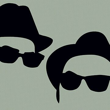 Elwood & Jake - The Blues Brothers by thedrumstick
