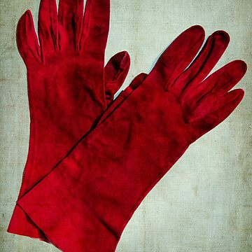 the old red gloves by TessAndre