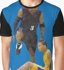 a8bb37a8f Allen Iverson Steps Over Tyronn Lue Low Poly Graphic T-Shirt