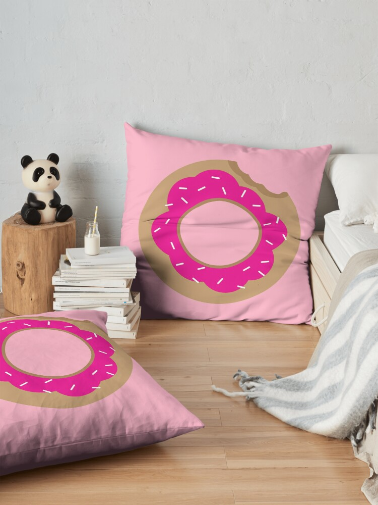Alternate view of Donuts! Floor Pillow