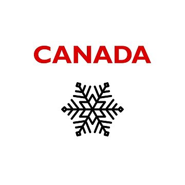 Canada Six-Sided Snowflake Star Light-Color by TinyStarCanada
