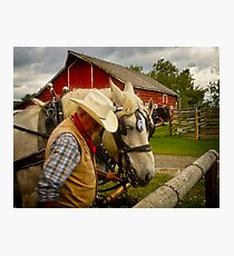 Bar U Ranch Photographic Print