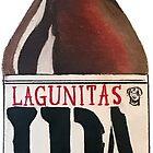 Lagunitas IPA Bottle by shaboola