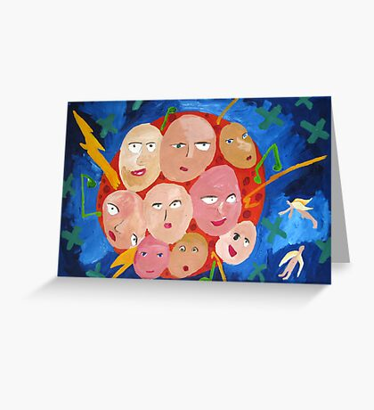 All Together! Greeting Card