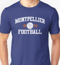 Montpellier Fußball Athletic College Style 2 Farbe Slim Fit T-Shirt