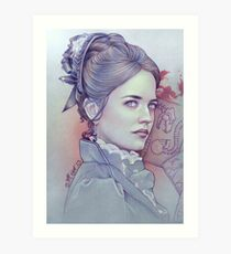 Miss Ives Art Print