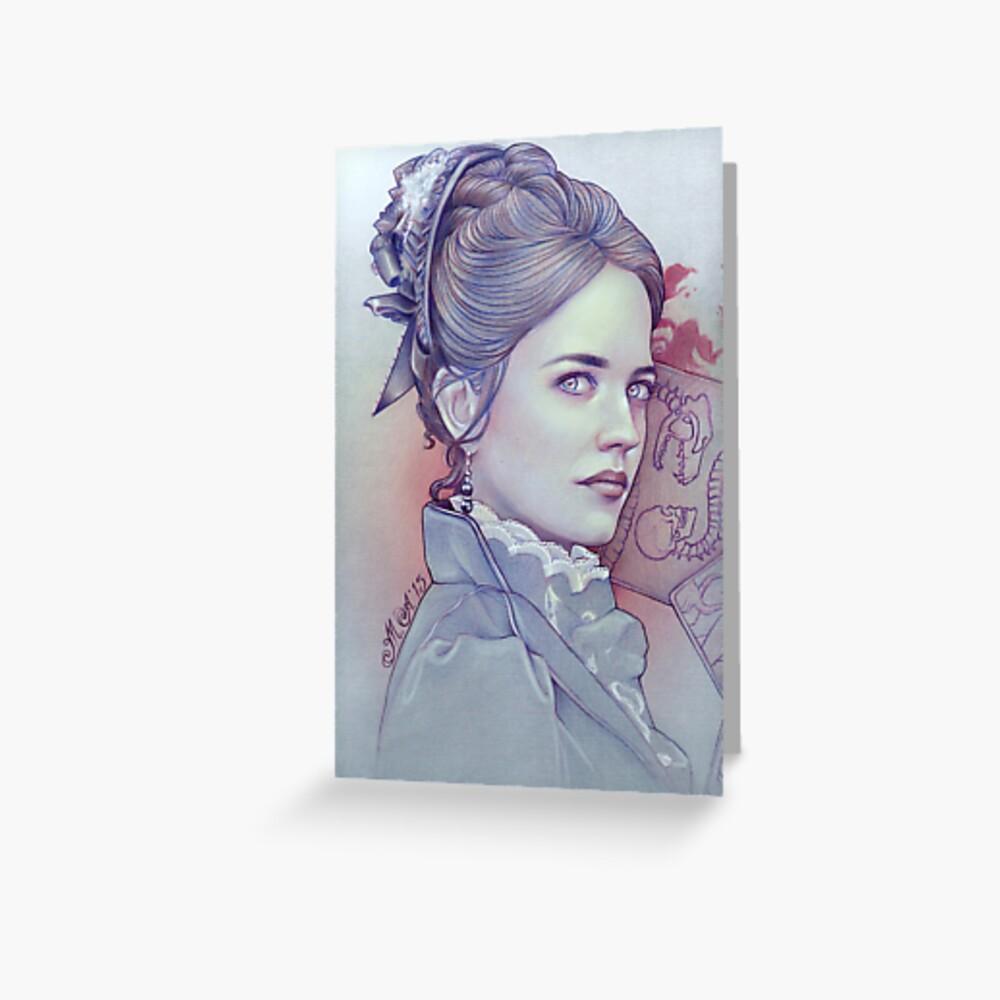 Fräulein Ives Grußkarte
