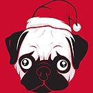 Holiday Pug by strangethingsA