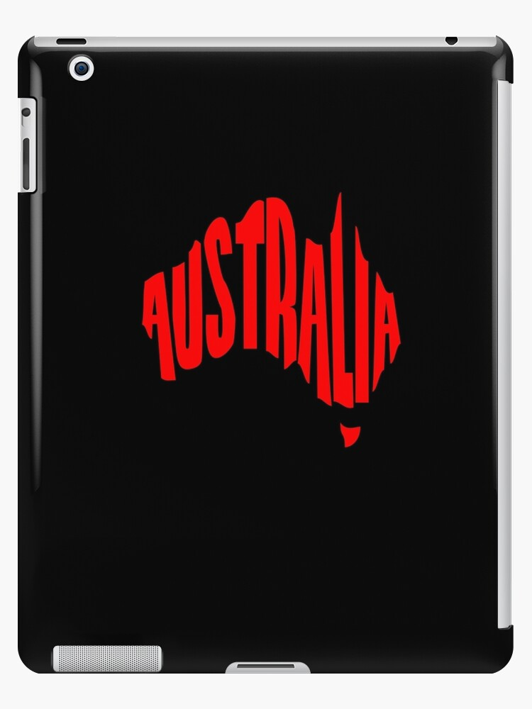 Australia in the shape of Australia by jezkemp