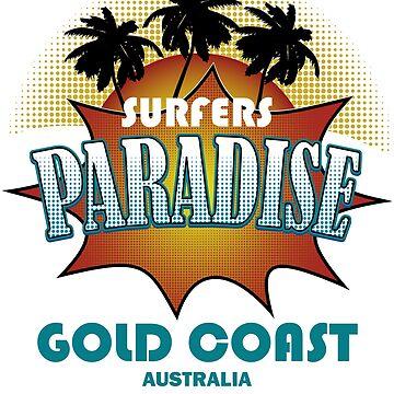 Surfers Paradise Gold Coast Australia by bev100