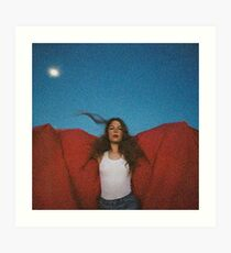 Maggie Roger hat es in einem früheren Album-Cover gehört Kunstdruck