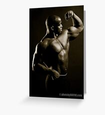 Biceps Greeting Card