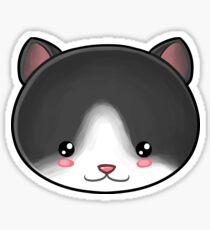 Tuxedo Cat Kawaii Sticker