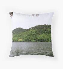 an unbelievable Ghana landscape Throw Pillow