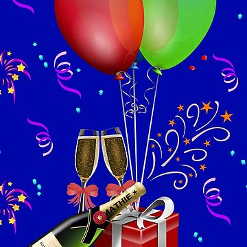 New Years Champagne Celebration by Gravityx9