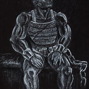 Chained Prisoner by joshcartoonguy