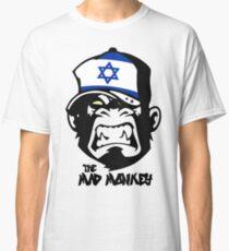 Israel Flag - Coat of Arms - Monkey Cartoon Classic T-Shirt