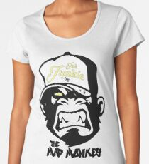 Ink Junkie - Tattoo Art - Monkey Cartoon Women's Premium T-Shirt