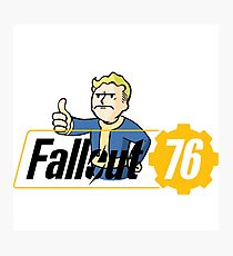 Fallout 76 Approved Photographic Print