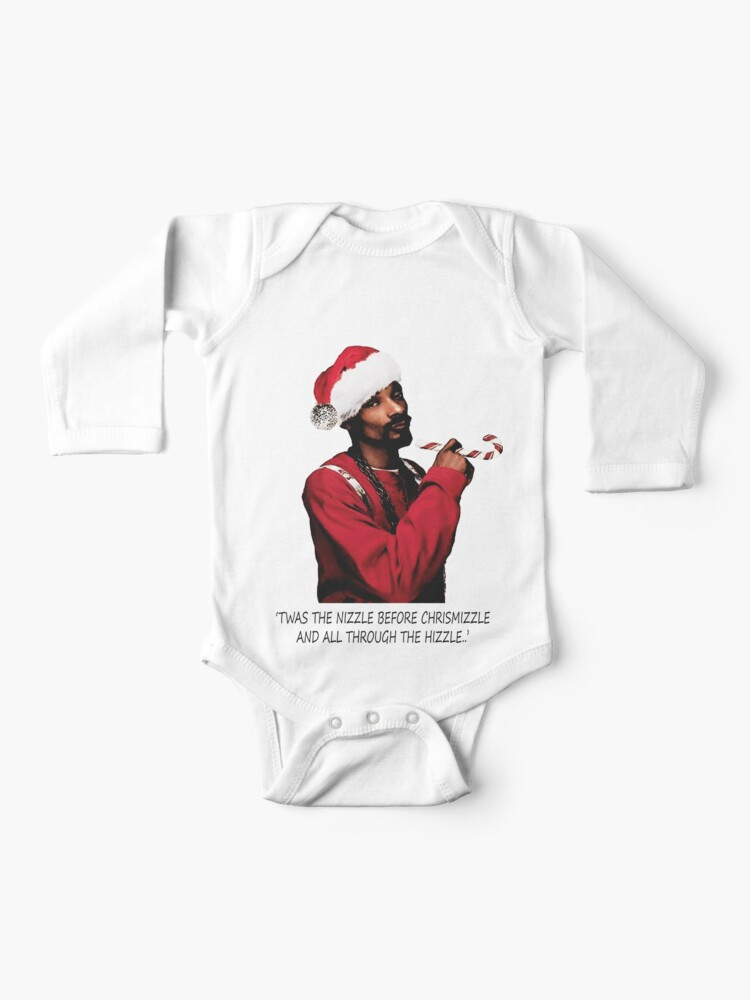 Snoop Dogg Christmas.Snoop Dogg Christmas Baby One Piece