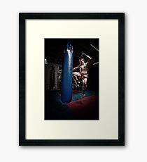 Ty - Knee Framed Print